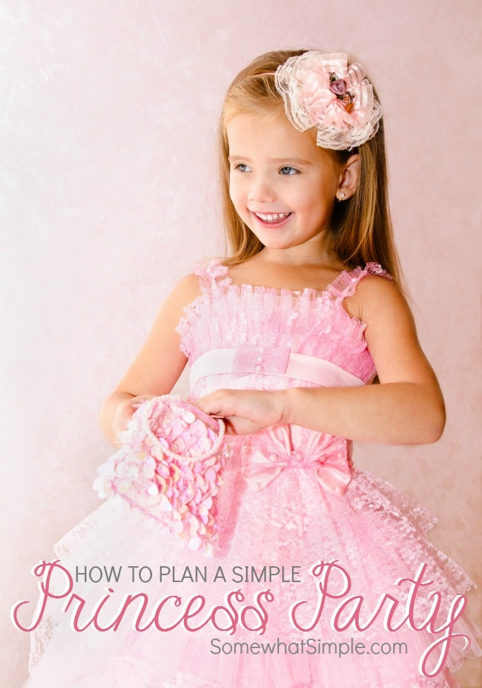 How to plan a simple princess party