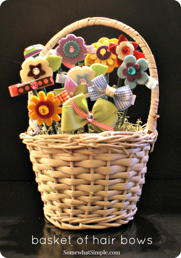 Basket of Bows 1