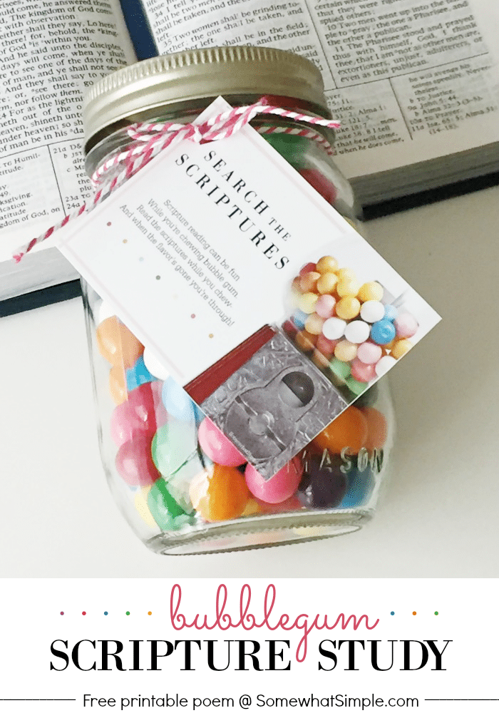 Bubblegum Scripture Reading - Somewhat Simple