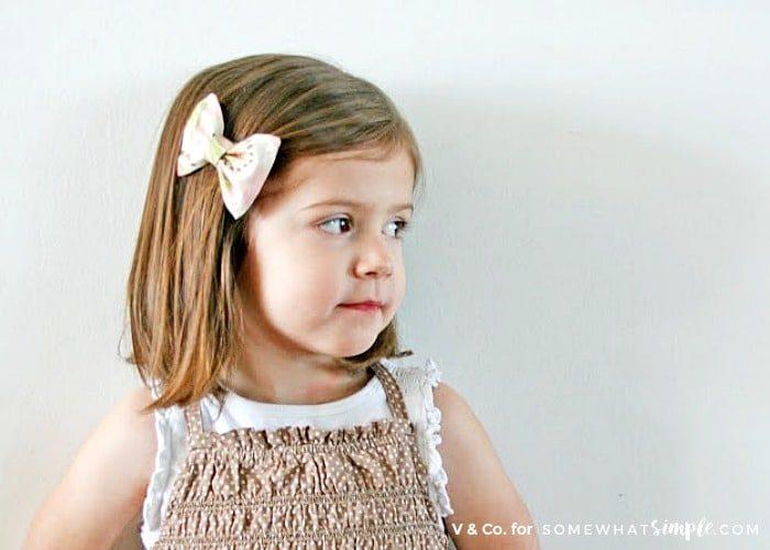 Fabric Hair Bow Tutorial – The Sewn Bow