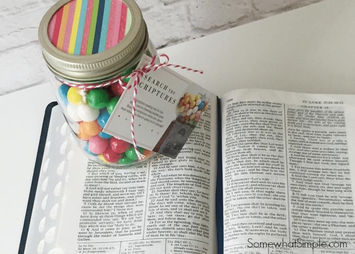 Bubblegum Scripture Reading Free Printable
