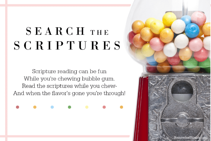 Search the Scriptures - Somewhat Simple