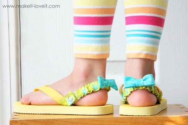 back strap flip flops