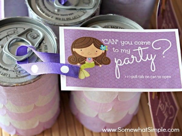 u0026quot can u0026quot  you come to my party  creative party invitations