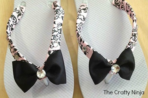 diy-ribbon-bow-flip-flop