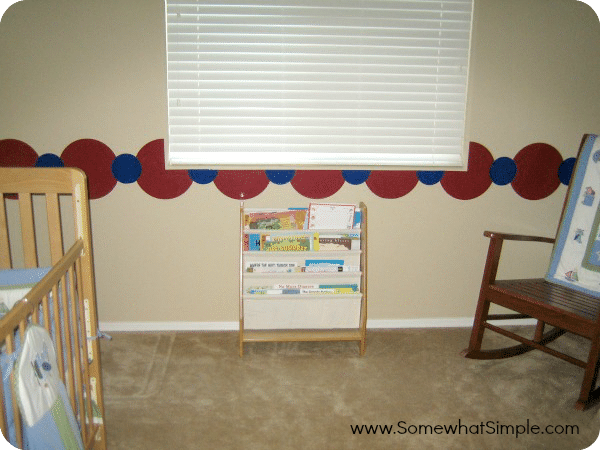nursery border