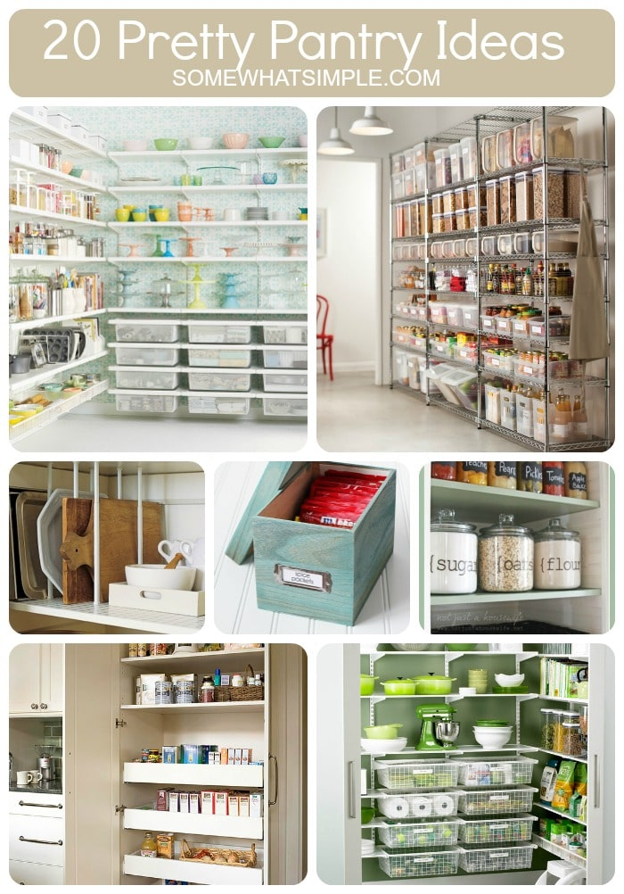 20 Perfect Pantry Ideas Somewhat Simple