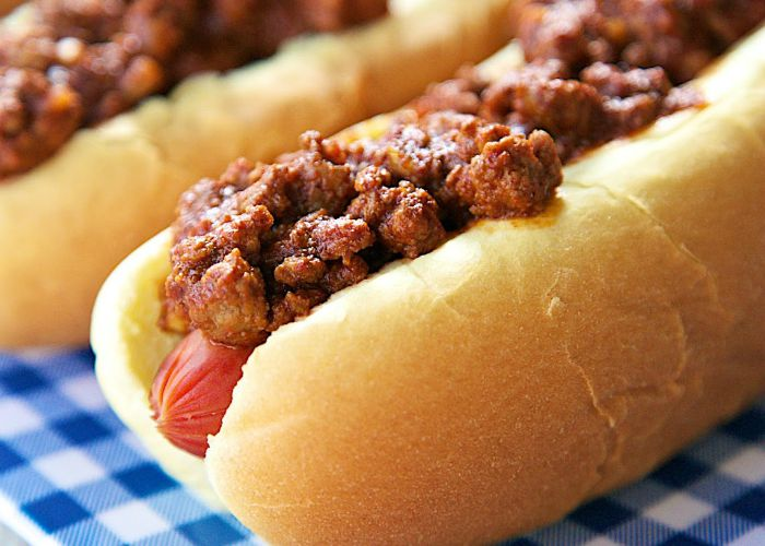 1 Dr Pepper Chili Dogs