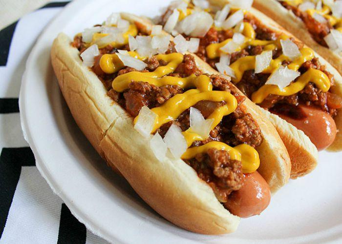 6 Detroit Coney Dogs