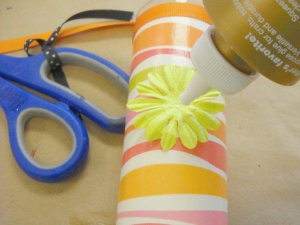 7 Glue the Embellishments