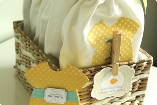 homemade baby shower gifts somewhat simple