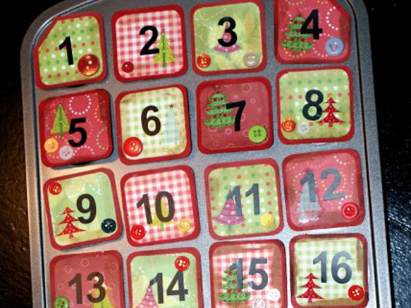 Magnetic Advent Calendar