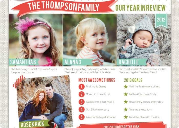 newsletter christmas cards 4