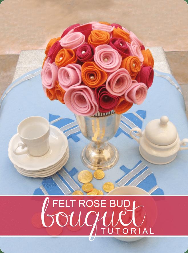 felt bouquet tutorial