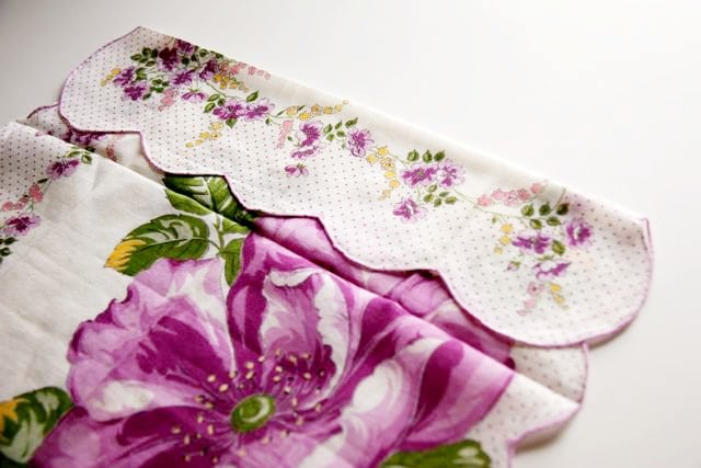 Handkerchief Baby Bonnet Tutorial 4