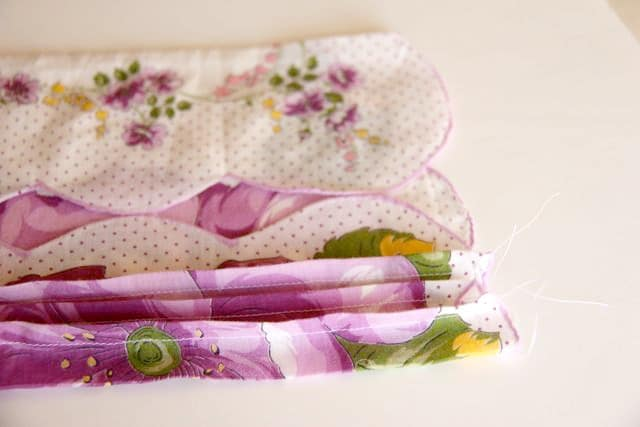 Handkerchief Baby Bonnet Tutorial 6