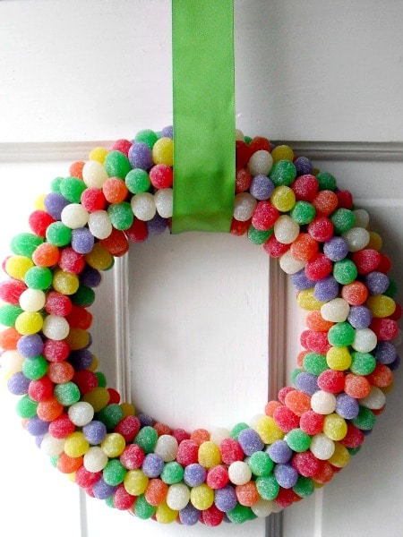 gumdrop wreath 5