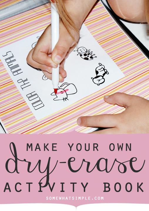 dry erase book