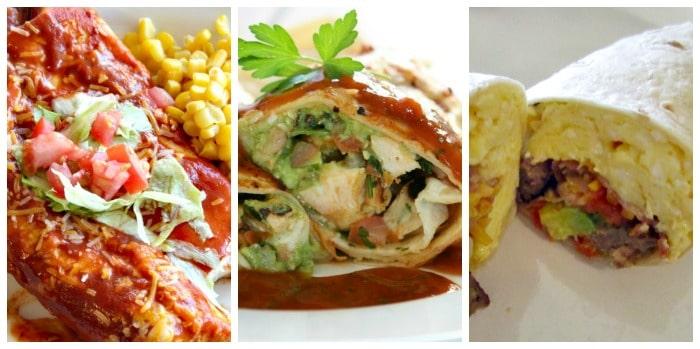 Cinco de Mayo Food - Burritos