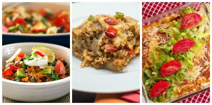 Cinco de Mayo Food - Casseroles 1
