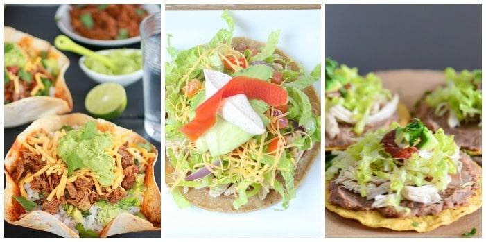 Cinco de Mayo Food - Tostadas