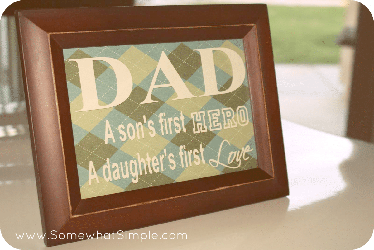 fathers day frame crafthubs