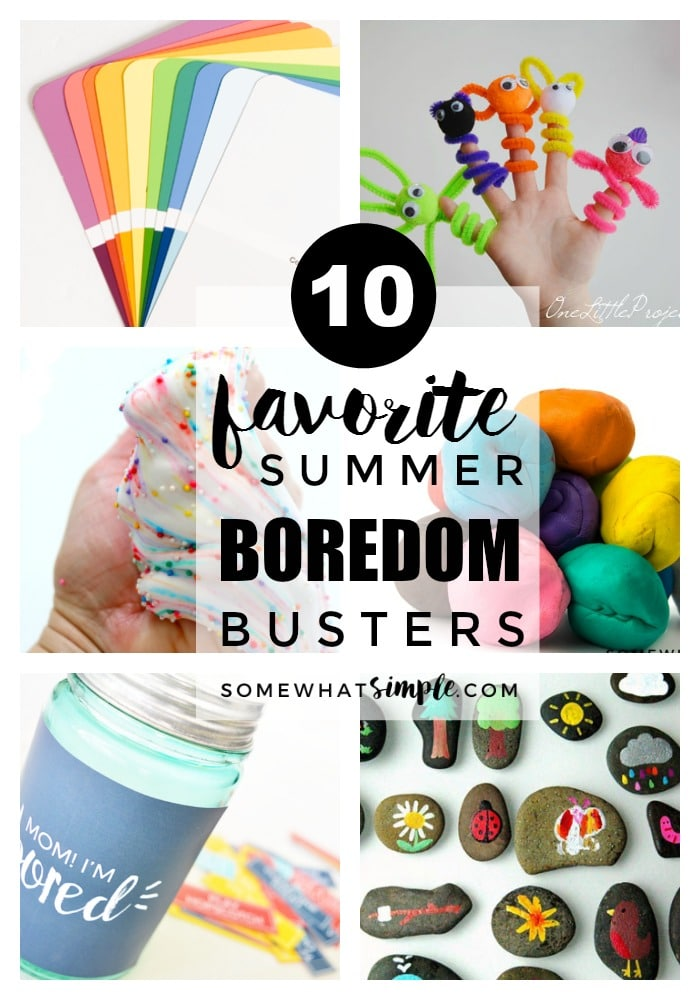 10 Summer Makeup Must Haves: 10 Favorite Activities For Kids