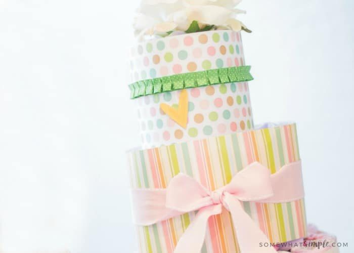 How to Make a Diaper Cake – A Simple Tutorial