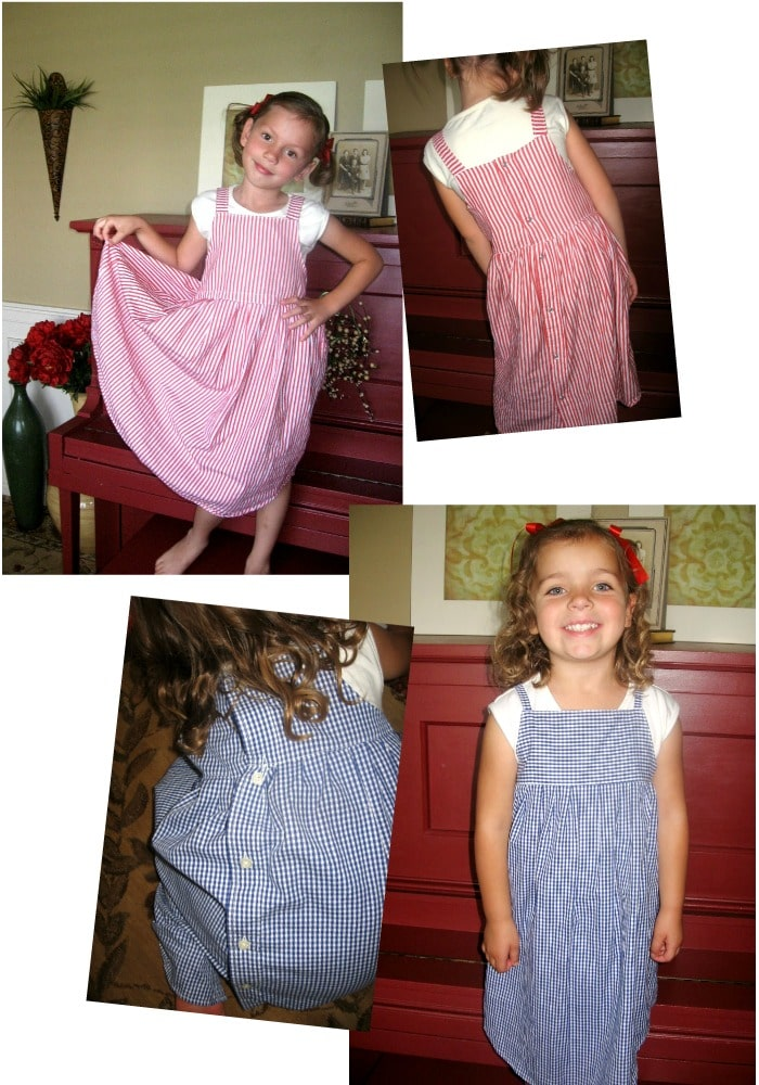 How to Make a Dress Out of a Shirt 17