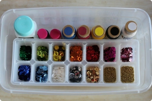 how to organize buttons