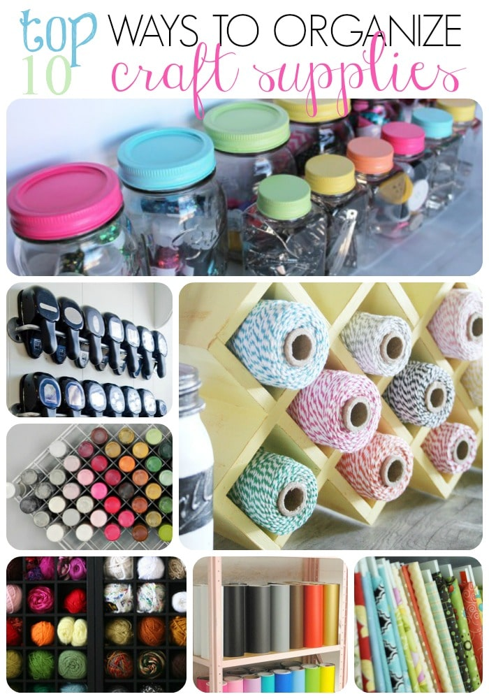 Craft supply organization ideas for Craft supply organization ideas