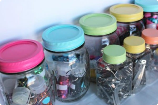 mason jar craft supplies