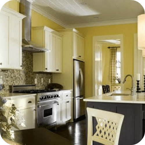 Yellow Kitchen Art: Decorating With Yellow And Gray