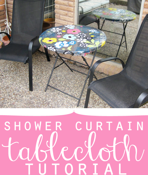 shower curtain tablecloth