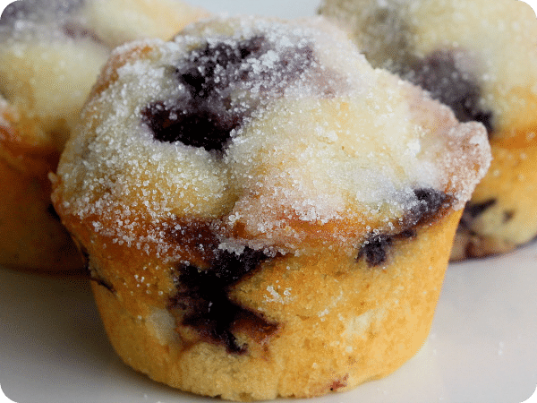 6 lemon-blueberry-muffins