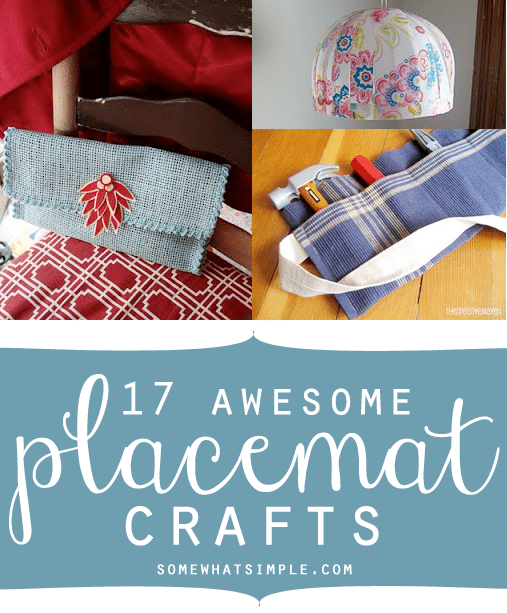 placemat crafts