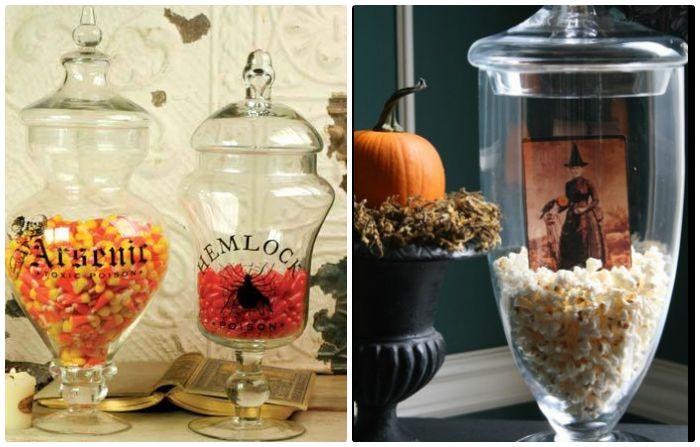 Halloween Apotecary Jars 1