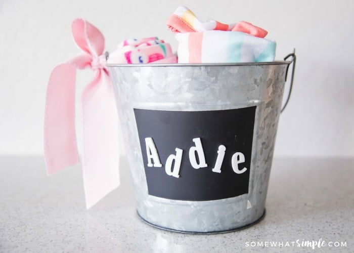 handmade baby shower gift for girls