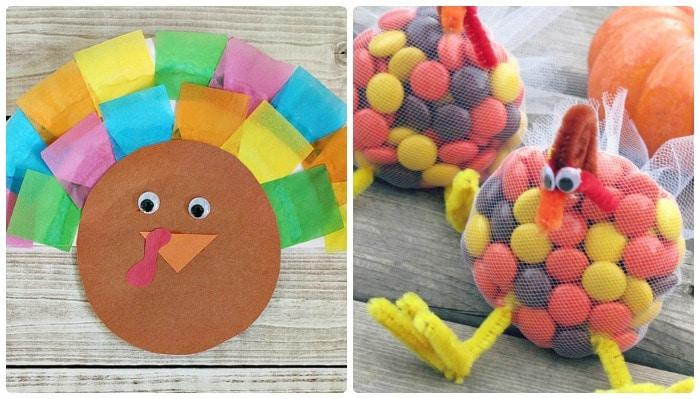 turkey crafts for kids 1