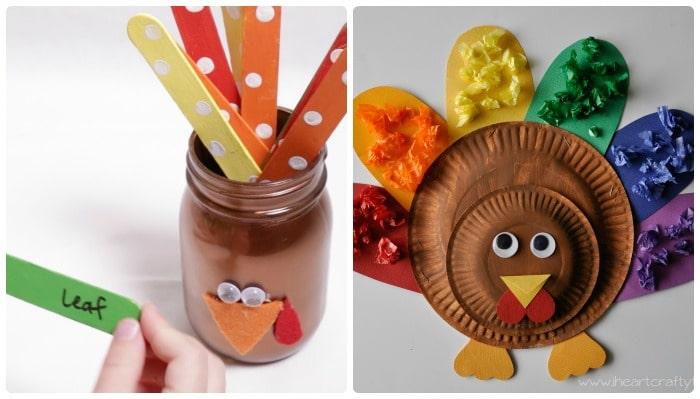 turkey crafts for kids 2