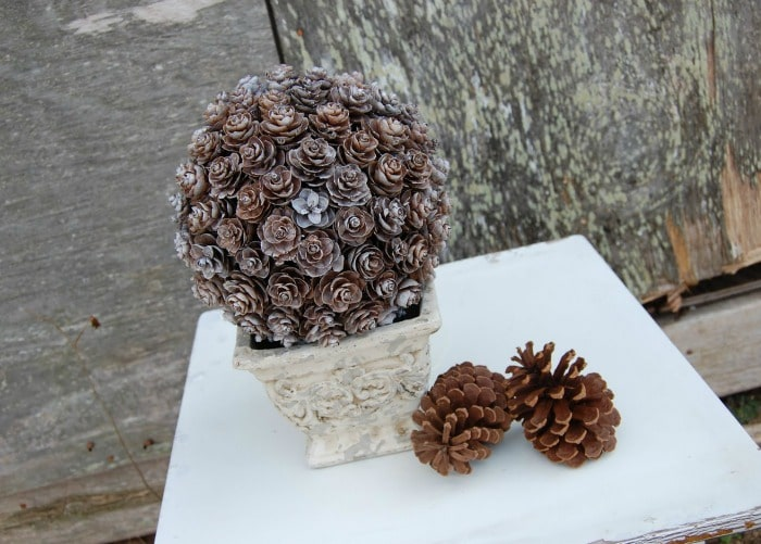 Pinecone Topiary Tutorial 2