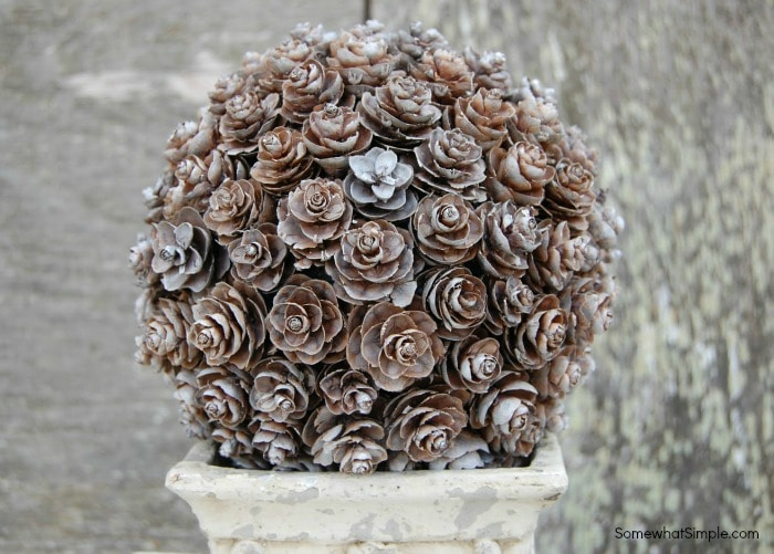 Pinecone Topiary Tutorial 3