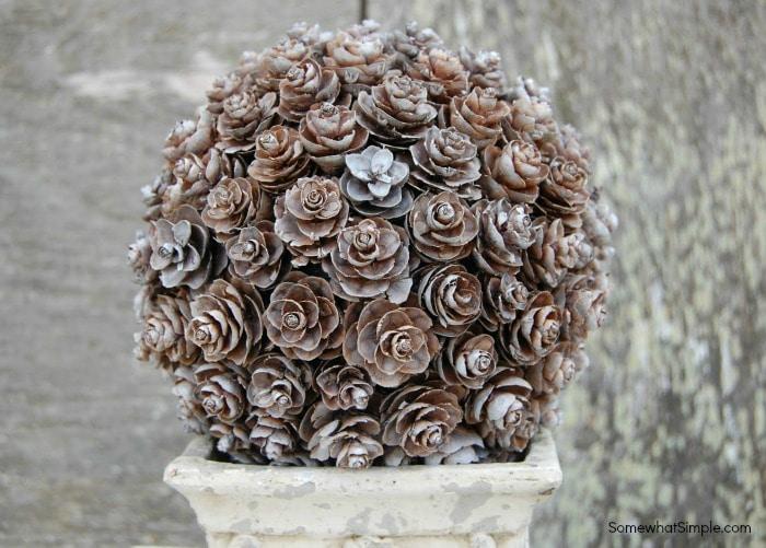 Pinecone Topiary Tutorial 3