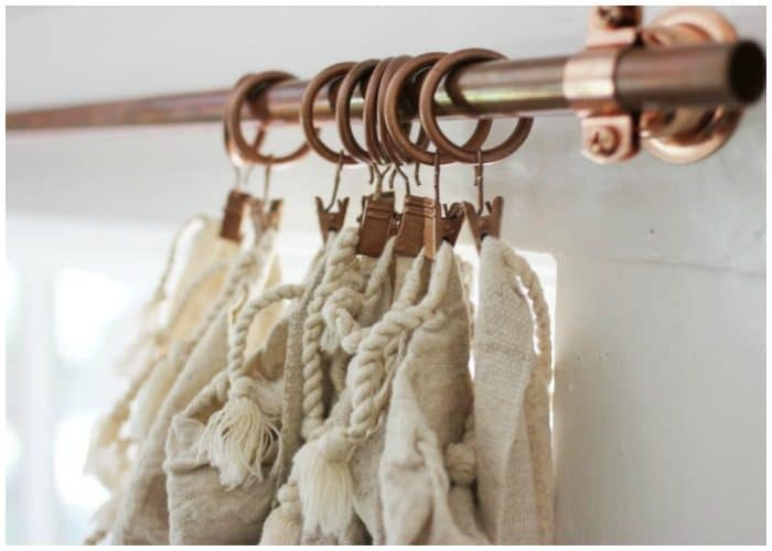 10 DIY Curtain Rods and Creative Window Treatments