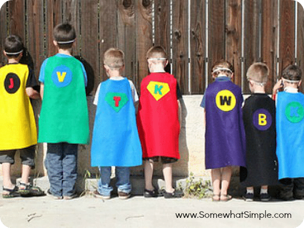 10 superhero