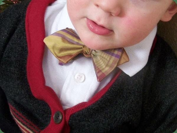 7 boys bow tie