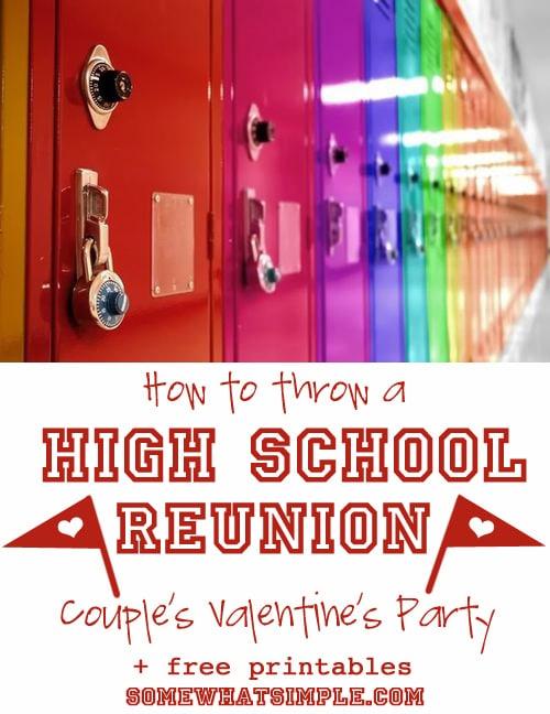 high school valentine party