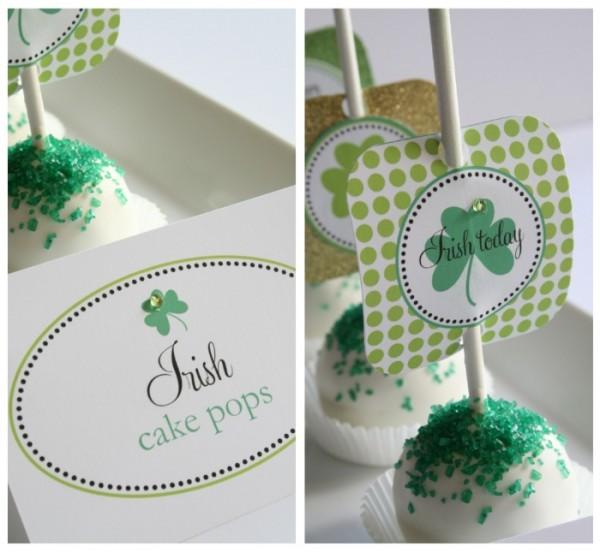 1 Irish Cake Pops