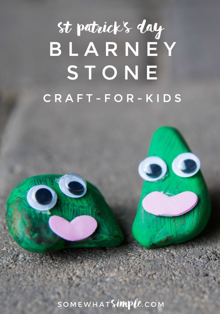 The Blarney Stone is a fun craft your kids will LOVE making this St. Patrick's Day!  via @somewhatsimple