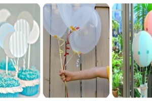 ideas for balloons